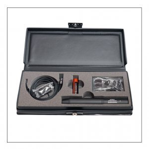Audio technica at899 lavalier microphone with case