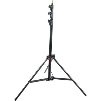 Rent Light Stand - Manfrotto Alu Master Air-Cushioned (Black, 12')