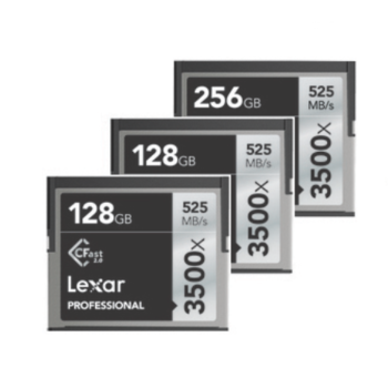 Rent Lexar 3500x CFast Memory Card Package