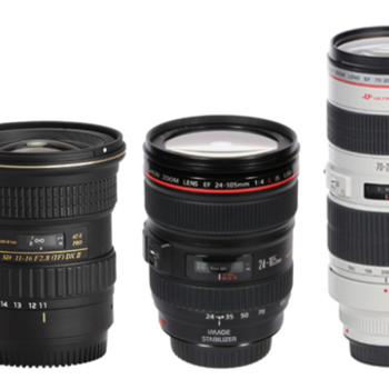Rent Canon/Tokina Lens Package 70-200, 24-105, 11-16mm