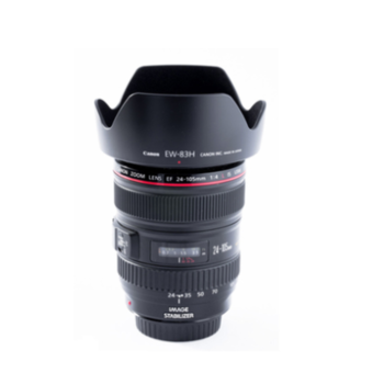 Rent Canon EF 24-105mm f/4L IS USM Lens (3 Available)