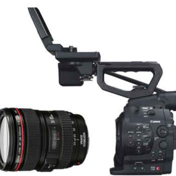 Rent Canon C300 EF Mount w/ 24-105 Lens and Tripod Package