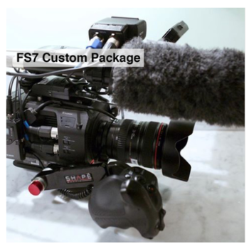 Rent Sony FS7 (4K) + Lens/Tripod/Mic. Custom Package
