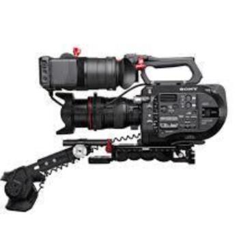 Rent Sony FS7 4K w/ExtensionUnit Shoulder Mount, Lens & Tripod EF