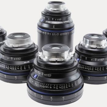Rent Zeus's cp2 6 hole lens set 18,25,35,50,85,100