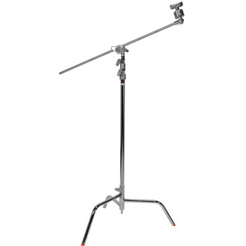 """Rent C-Stands: 40"""" Black Spring Loaded Stand"""