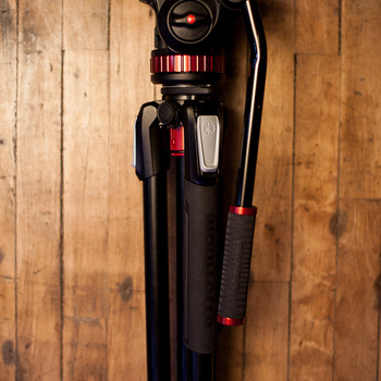 Rent Manfrotto 502 w/ 055 Two Rise Legs