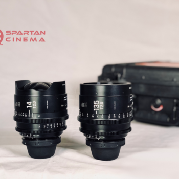 Rent Sigma Wide/Tele Prime Kit: 14mm T2.0 and 135mm T2.0 FF High Speed Cine Prime Lenses