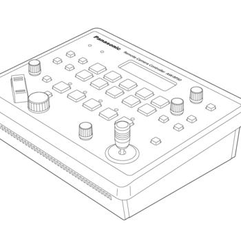 Rent Panasonic RP-50 PTZ Controller