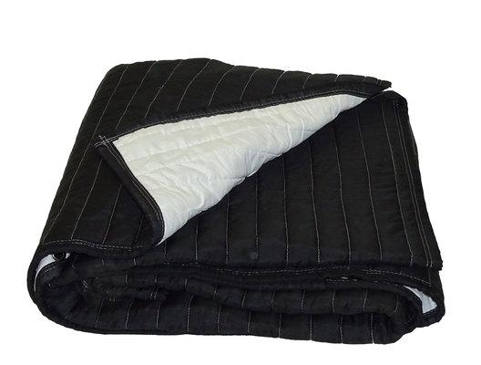 Sound blanket black white nogrommets 2