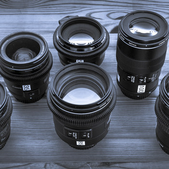 "Rent Canon ""L"" Series Prime Lens Set"