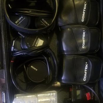 Rent Sennheiser IEM Monitoring Headset Kit of 4