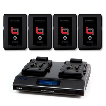 Rent 4X V-Lock Slim battery for RED + Charger