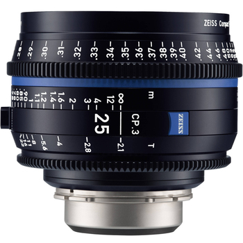 Rent Zeiss CP3 25mm 2.1 Prime Lens