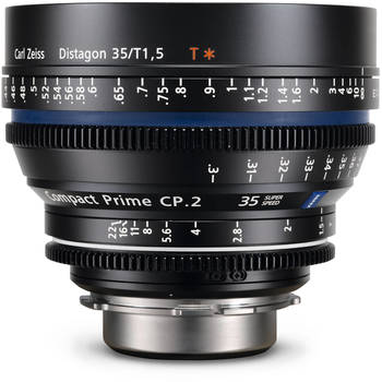 Rent Zeiss CP2 35mm T1.5 Super Speed Prime Lens