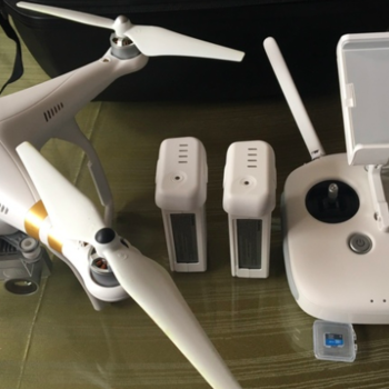 Rent DJI Phantom 3 Professional with 4K Camera - Bundle