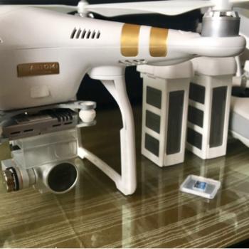 Rent DJI Phantom 3 Professional with 4K Camera - Bundle