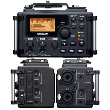 Rent Tascam DR-60D 4-Channel Linear PCM Recorder