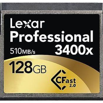 Rent Lexar Professional 128GB 3400x CFast 2.0 Memory Card