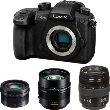 Rent Panasonic Lumix DC-GH5 Package
