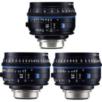 Rent Ziess CP3 Lenses