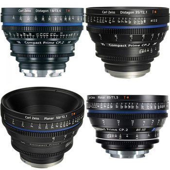 Rent Zeiss CP2 Lenses