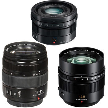 Rent Lumix G Lenses