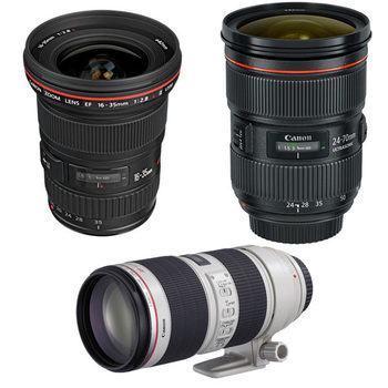 Rent Canon Zoom Lenses