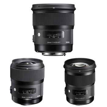 Rent Sigma Art Prime Lenses