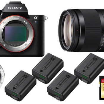Rent Sony a7S II w/ Lens and Metabones Rental Kit