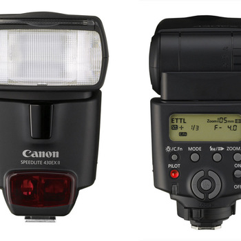 Rent Canon Speedlite 430 ex II