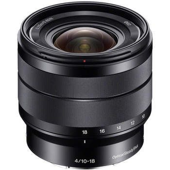 Rent Sony 10-18mm f/4 OSS E Mount Lens (APS-C, but works on Full Frame as well)