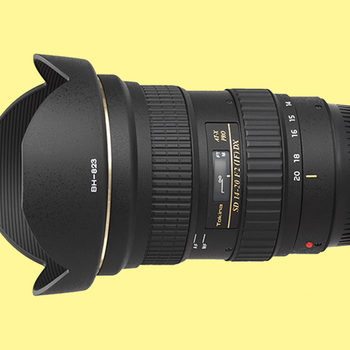 Rent Tokina AT-X 14-20mm f/2 PRO DX Lens for Canon EF