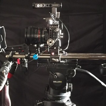 Rent Gh5s Pro Package, Rokinon Prime Set, Metabones Speedbooster Cine, Miller Tripod, Shoulder Mount, V Mount