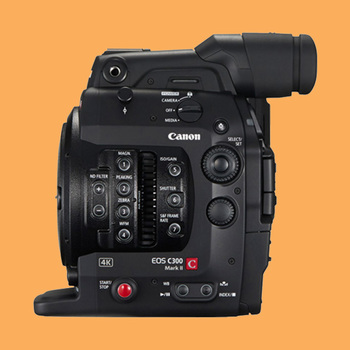 Rent Canon C300 Mk II - Body, Batteries, LCD & Cards