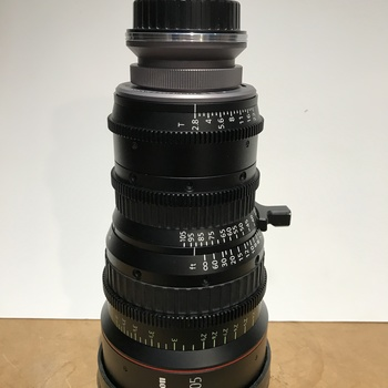 Rent Canon 30-105 Zoom with Duclos Multi mount