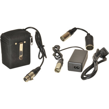 Rent Bescor 12V Lithium-Ion Belt-Clip Battery & Charger Kit