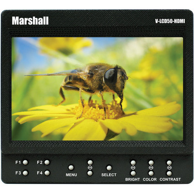 Marshall electronics v lcd50 hdmi 5 on camera monitor 1282667465000 730644