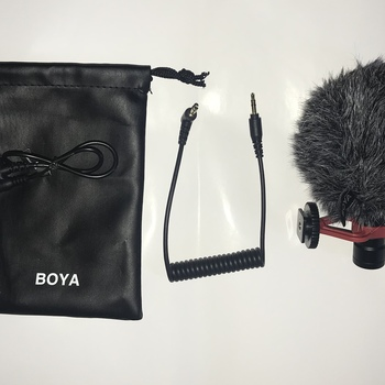 Rent BOYA BY-MM1 Universal Cardiod Shotgun Microphone Mini Mic