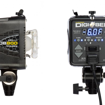 Rent Two DigiBee 800 Strobe Flash (320Ws)