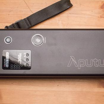 "Rent Aputure LS 300D LED w/ 35"" Softbox & Fresnel Lens"