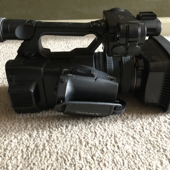 Rent Sony FDR-AX1 Digital 4K Camera Package with cards, battery, charger, cords