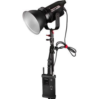 Rent Aputure Light Storm COB 120t  V-Mount  WITH Maxoak 177wh V-mount battery and V-Mount battery charger