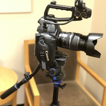 Rent Canon C100 (AF upgrade) kit with lens