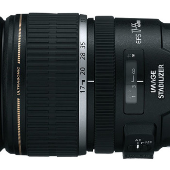 Rent Canon 17-55mm f/2.8 IS USM image wide angle zoom lens with image stabilization