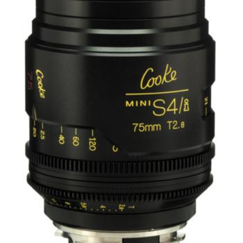 Rent Cooke Mini S4/i  75mm