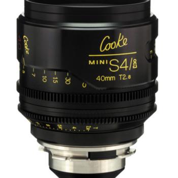 Rent Cooke Mini S4/i  40mm