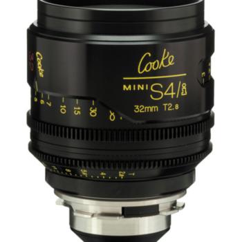 Rent Cooke Mini S4/i  32mm
