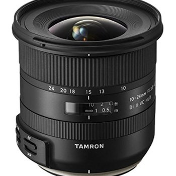 Rent Tamron 10-24mm F/3.5-6.3 Di-II VC HLD Wide Angle Zoom Lens for Nikon APS-C Digital SLR Cameras