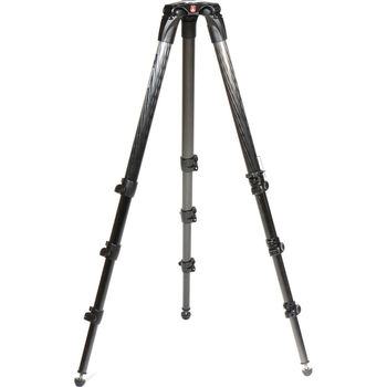 Rent Manfrotto 536 Carbon Fiber Tripod with Head and Plate